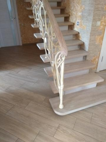 Кованая лестница и перила