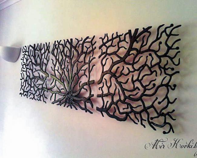 Кованое пано на стену