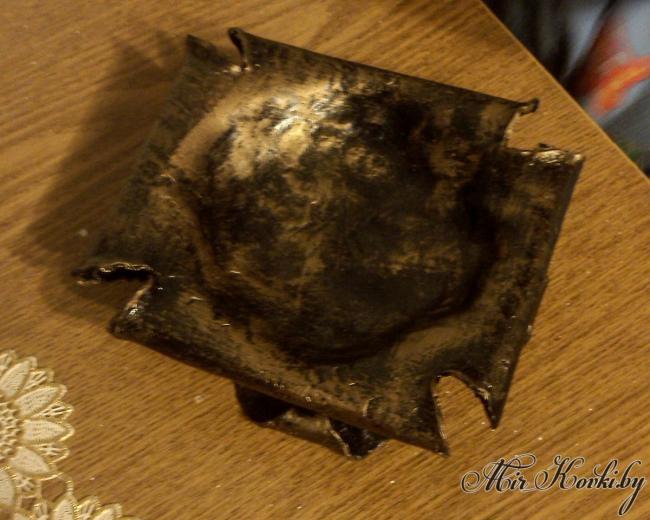 Кованая пепельница