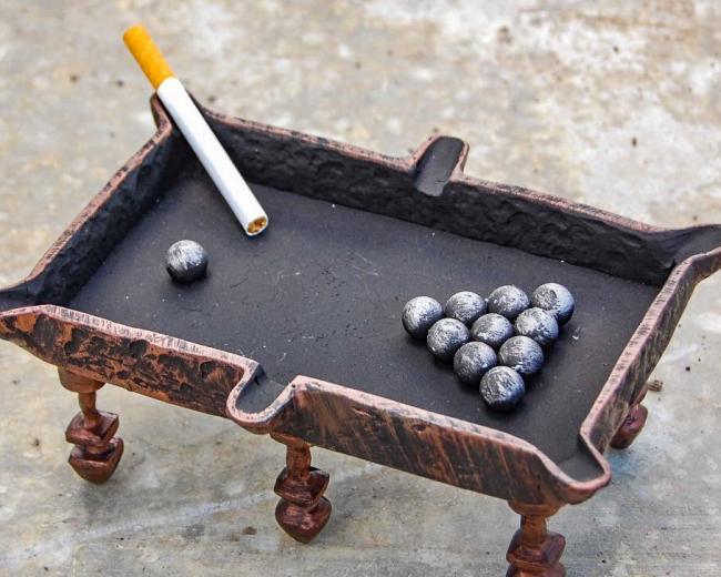 """Кованый сувенир """"Пепельница"""""""