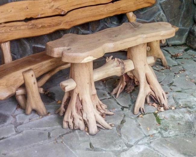 Деревянный стул Деревянный скамейка