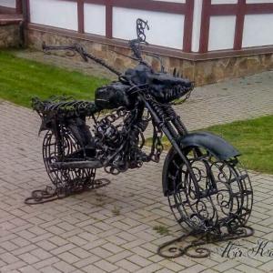 """Кованый мотоцикл ГСОК """"Логойск"""""""