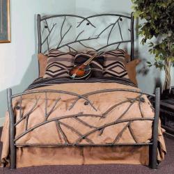 Кованая кровать для спальни